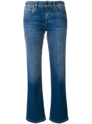 Notify Jeans Cropped Faded Blue