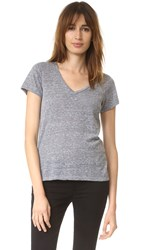 Sundry V Neck Tee Heather Grey