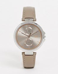 Tommy Hilfiger 1782180 Angela Leather Watch Grey