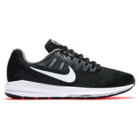 Nike Air Zoom Structured 20 Women's Running Shoes Black White Grey