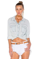 One Teaspoon Liberty Crop Button Up Classic