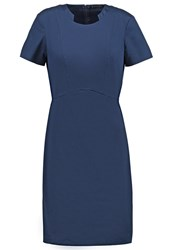 Sisley Shift Dress Navy Dark Blue