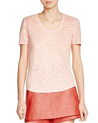 Maje Tomate Marled Tee Orange