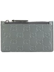 Gucci Signature Coin Pouch Grey