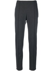 Le Tricot Perugia Jogger Style Trousers Women Polyamide Spandex Elastane Viscose M Grey