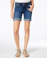 Kut From The Kloth Catherine Cuffed Denim Shorts Remain