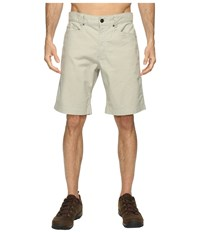 The North Face Campfire Shorts Granite Bluff Tan Men's Shorts White