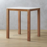 Cb2 Palate Marble 36'' High Counter Table