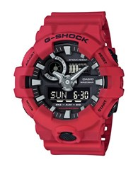 G Shock Red Analog And Digital Resin Strap Watch