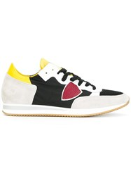 Philippe Model Colour Block Lace Up Sneakers