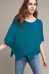 Anthropologie Cozy Dolman Pullover Turquoise