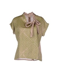 Devotion Shirts Blouses Women Light Brown