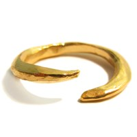 Catherine Marche Gold On Silver Claw Ring