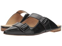 Bill Blass Slyvia Slide Black Clog Mule Shoes