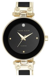 Women's Anne Klein Diamond Marker Bangle Watch 28Mm