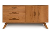 Copeland Furniture Audrey Buffet 3 Drawer On Left 2 Door On Right
