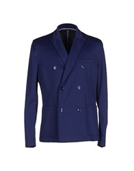 Paolo Pecora Suits And Jackets Blazers Men Dark Blue