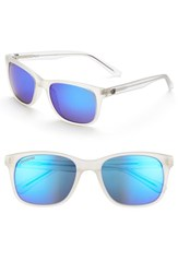 Women's Converse 55Mm Retro Sunglasses Matte Crystal Mirror