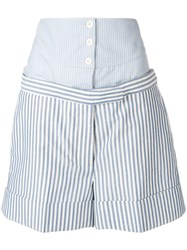 Thom Browne Boxer Yoke Mini Short Blue
