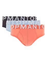 Topman Multi Assorted Colour Briefs 3 Pack