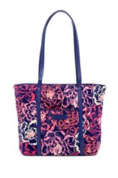 Vera Bradley Small Trimmed Tote Pink