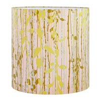 Clarissa Hulse St Lucia Lamp Shade Oyster Ochre Soft Gold Pink
