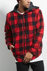Forever 21 Victorious Plaid Flannel Jacket