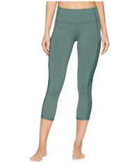 Lorna Jane Tri Ultimate Support 7 8 Tights Military Casual Pants Olive