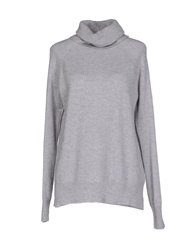 Only Turtlenecks Light Grey