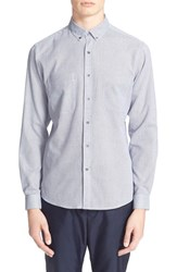 Men's Patrik Ervell Trim Fit Woven Shirt