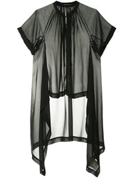Kitx Asymmetrical Shirt Black