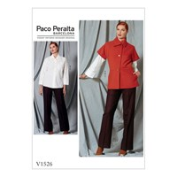 Vogue Women's Shirt And Trousers Sewing Pattern 1526