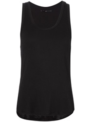 Fadeless Scoop Neck Tank Top Black