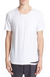 Men's Drifter 'Trax' Ripped Pocket T Shirt