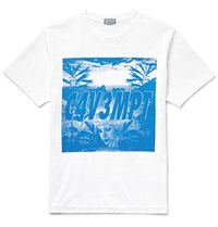 Cav Empt Printed Cotton Jersey T Shirt White