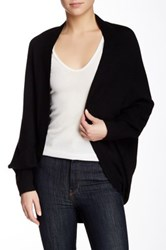Magaschoni Long Sleeves Cashmere Cocoon Cardigan Black