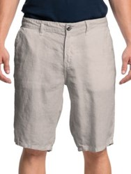 Original Paperbacks Havana Linen Shorts Bone