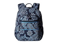 Vera Bradley Campus Backpack Blue Bandana Backpack Bags