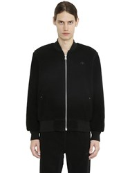 Adidas Originals By Alexander Wang Reversible Faux Shearling And Nylon Bomber
