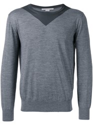Stella Mccartney Two Tone Jumper Grey