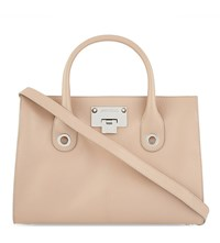 Jimmy Choo Riley Leather Tote Bag Ballet Pink