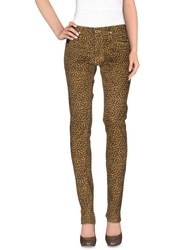 April 77 Trousers Casual Trousers Women Beige