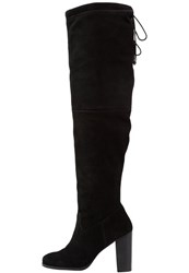 Faith Marlow Overtheknee Boots Black