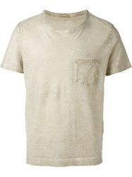 Massimo Alba Front Pocket T Shirt Nude And Neutrals