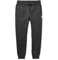 Moncler Gamme Bleu Slim Fit Tapered Jersey Sweatpants Dark Gray