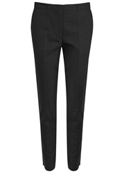 Helmut Lang Black Cropped Cotton Trousers
