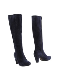 Pas De Rouge Boots Dark Blue