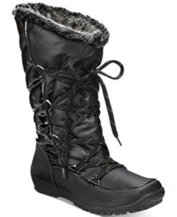 Sporto Charley Cold Weather Boots Women's Shoes Black