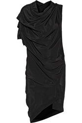 Vivienne Westwood Rill Draped Satin Crepe Dress