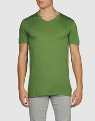 Generation Pacifique Short Sleeve T Shirts Green
